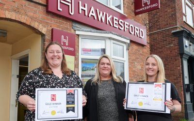 Double gold for our Southam sales and lettings teams