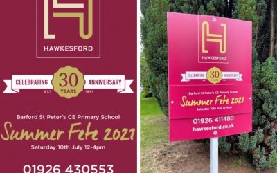 Back to school to celebrate 30 years in business
